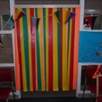 Colourful PVC strip curtain