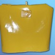 The tea cosy - yellow PVC cover