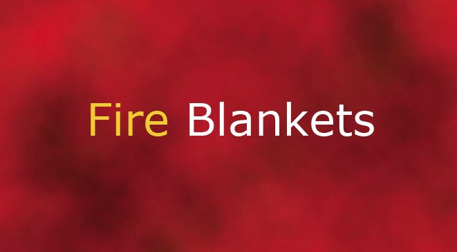 Fire blankets insulation